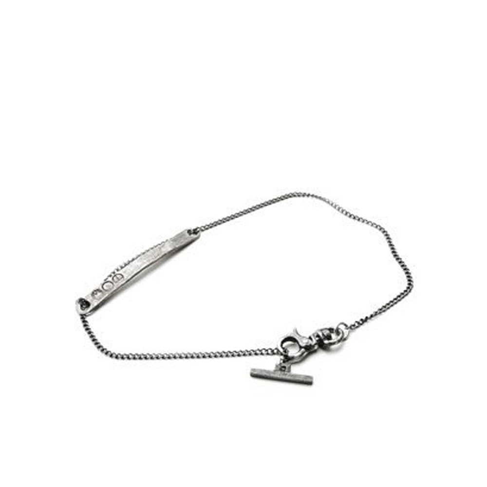 """BAR CURB CHAIN"" BRACELET"