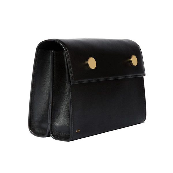 """Twin Clutch"" Black Box Calf"