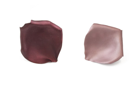 """Two Tone Rose Petal"" Earrings - ARCHIVES - 1"