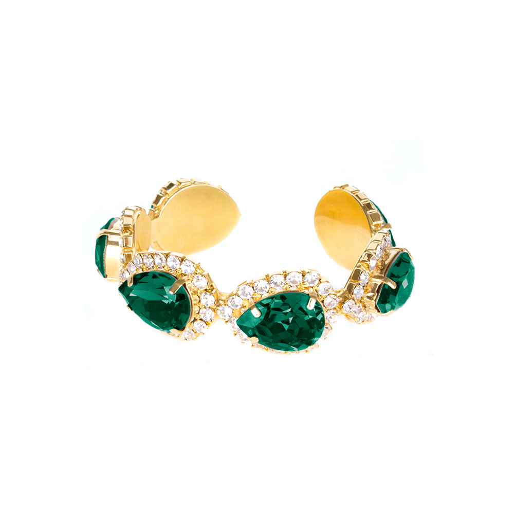 """Vendome Bracelet"" Emerald"