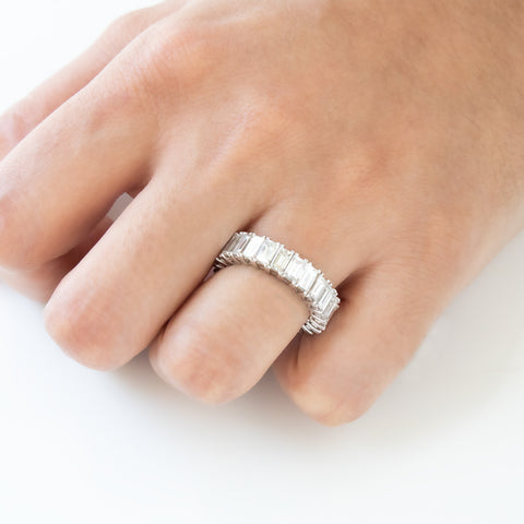 """Diamond and Platinum"" Eternity Ring"