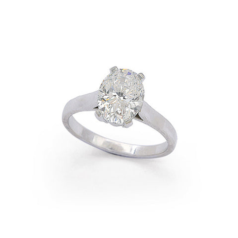 """Tiffany & Co. Diamond Solitaire"" Ring"