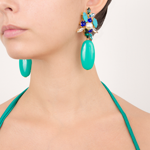 """Wonderfulandia"" Mono Earring"
