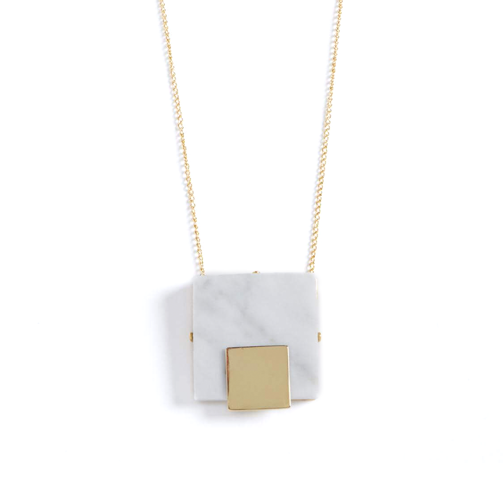 """Collar Marcel"" Marble Necklace"