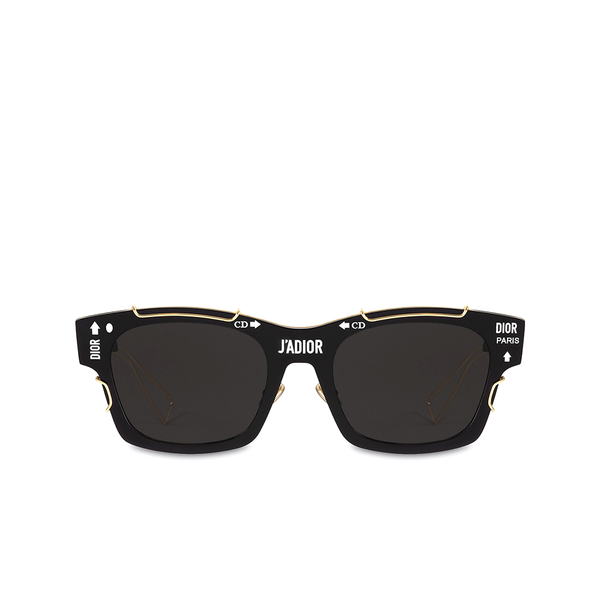 """J'ADIOR"" Black Sunglasses"