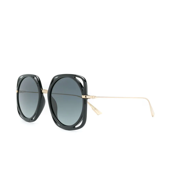 """DIRECTION"" Black Sunglasses"