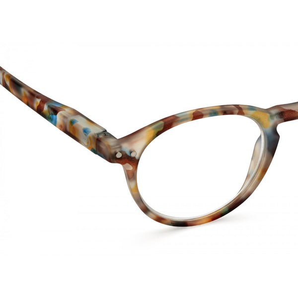 """A"" Blue Tortoise Reading Glasses"
