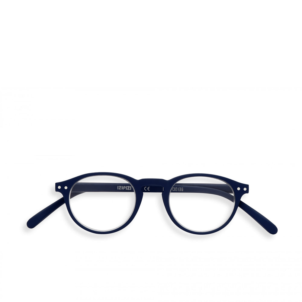 """A"" Navy Blue Reading Glasses"