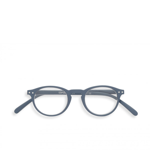 """A"" Grey Reading Glasses"