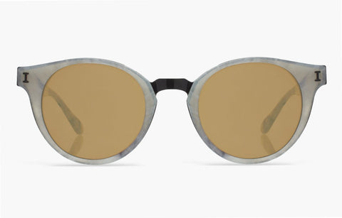 """Amalfi"" Grey Marble Sunglasses"