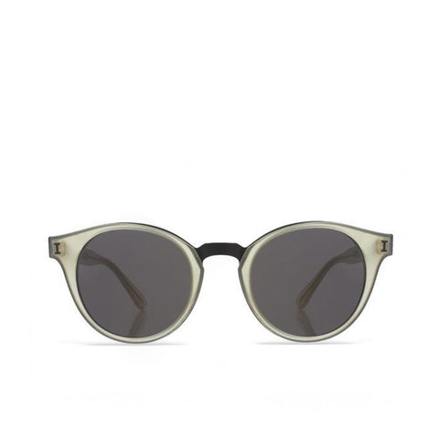 """Amalfi"" Matte Clear Sunglasses"