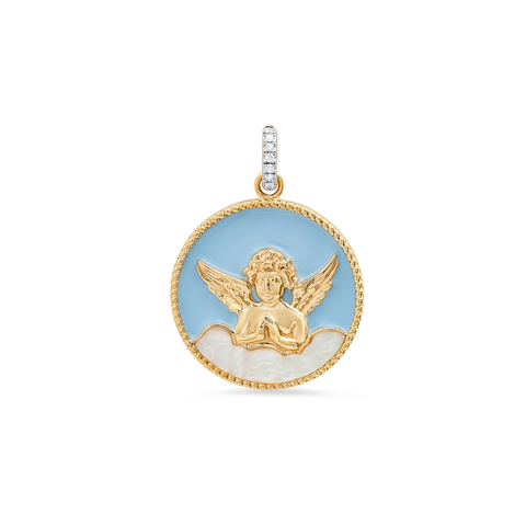 """MY BLUE ANGEL"" Charm"