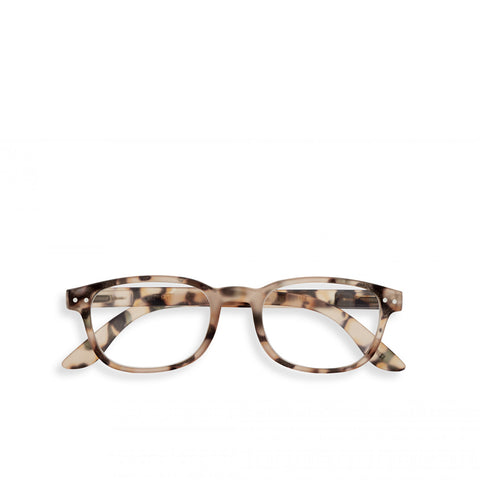 """B"" Light Tortoise Reading Glasses"