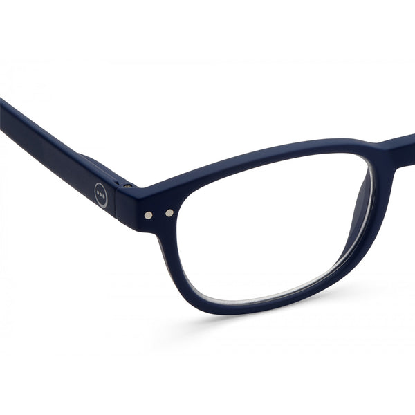 """B"" Navy Blue Reading Glasses"