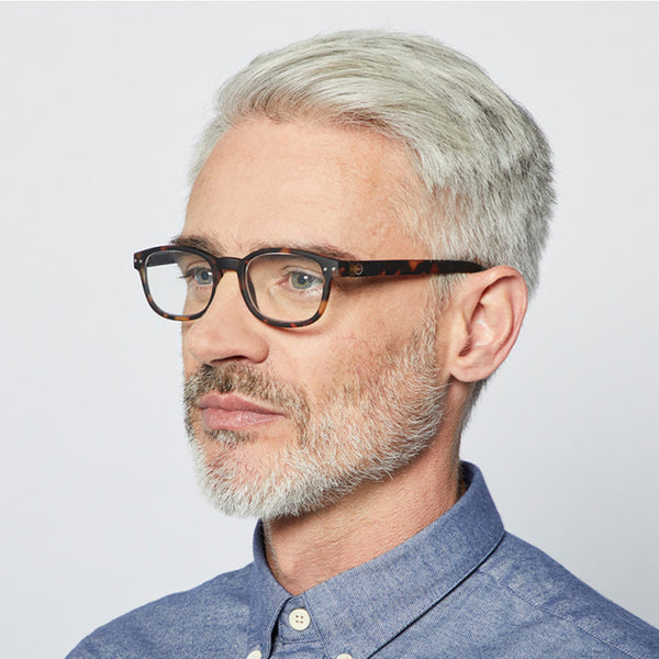 """B"" Tortoise Reading Glasses"