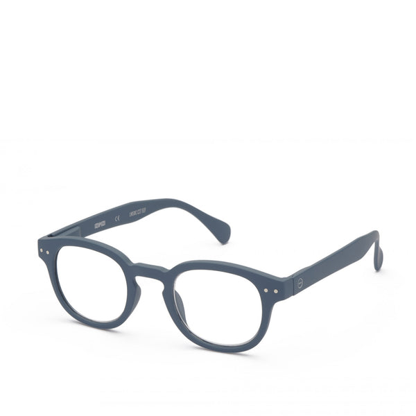 """C"" Grey Reading Glasses"
