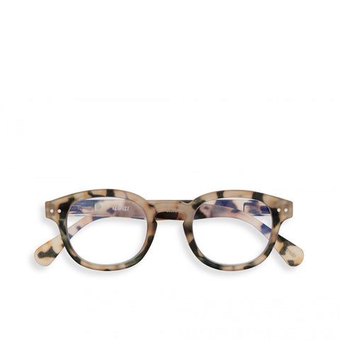 """C"" Light Tortoise SCREEN Reading Glasses"