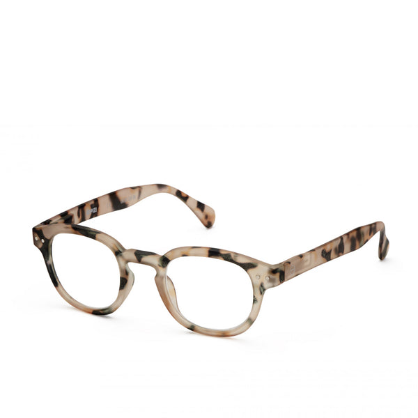 """C"" Light Tortoise Reading Glasses"