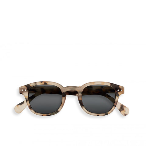 """C"" Light Tortoise Sunglasses"