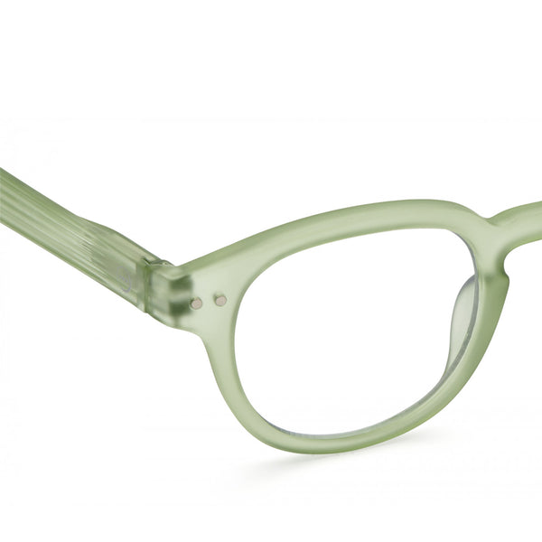 """C"" Peppermint Screen Glasses"