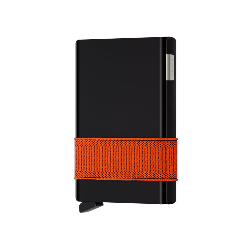 """Cardslide"" Black/Orange"