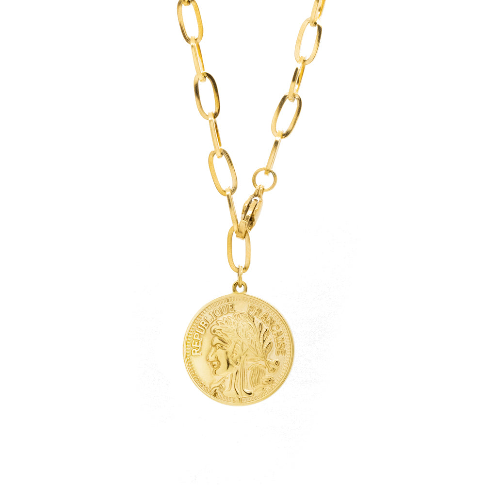 """Coin"" Necklace"