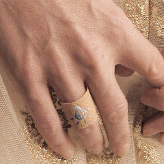 """Diamond"" Costume Ring/Band-Aid - ARCHIVES"