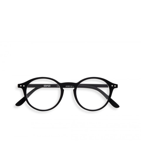 """D"" Black Reading Glasses"