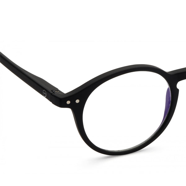 """D"" Black Screen Reading Glasses"