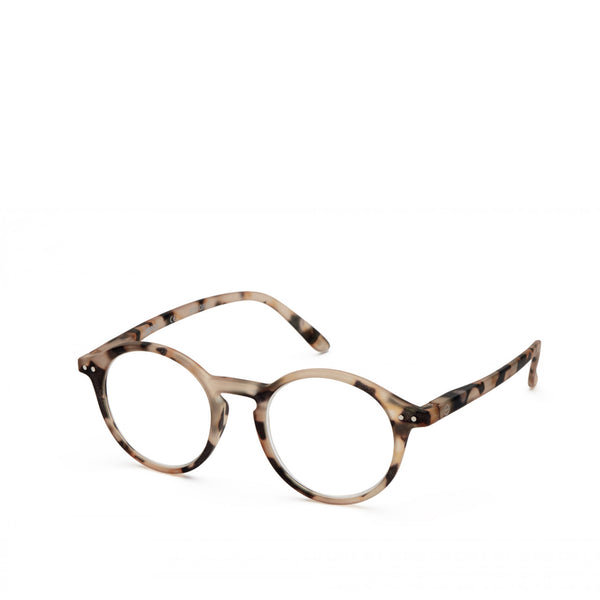 """D"" Light Tortoise  Reading Glasses"