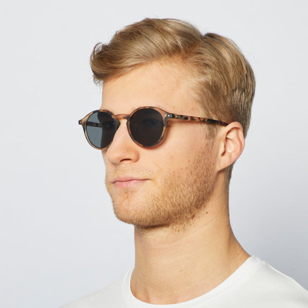 """D"" Light Tortoise Sunglasses"