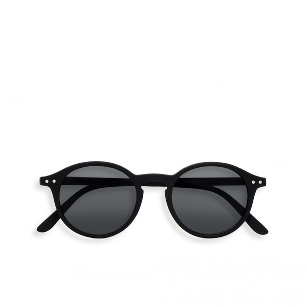 """D"" Black Grey Lenses Sunglasses"