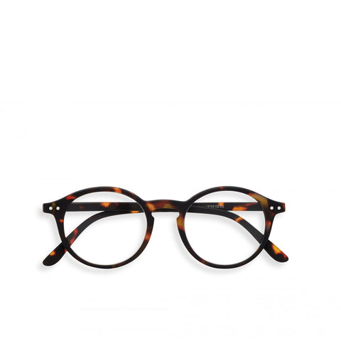 """D"" Tortoise Reading Glasses"