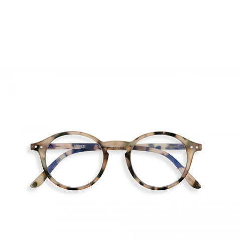 """D"" Light Tortoise SCREEN Reading Glasses"