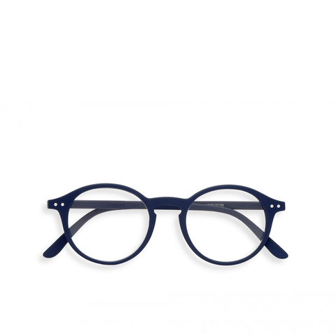 """D"" Navy Blue Reading Glasses"