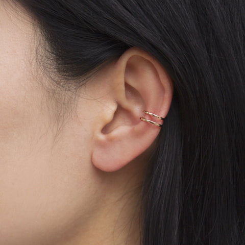 """Equality Rose Gold Cuff"" Earring"