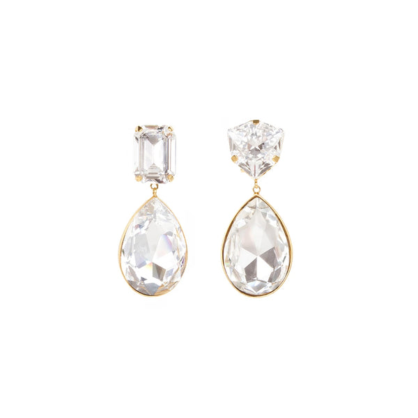 """DYNASTY"" CRYSTAL EARRINGS"