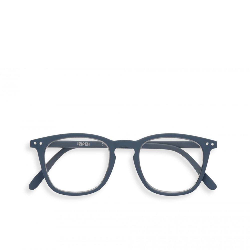 """E"" Grey Soft Reading Glasses"