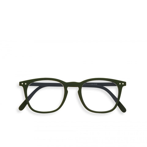 """E"" Kaki Screen Reading Glasses"