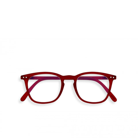 """E"" Red Screen Reading Glasses"