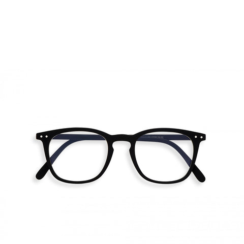 """E"" Black Screen Reading Glasses"