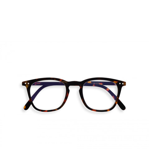 """E"" Tortoise Screen Reading Glasses"