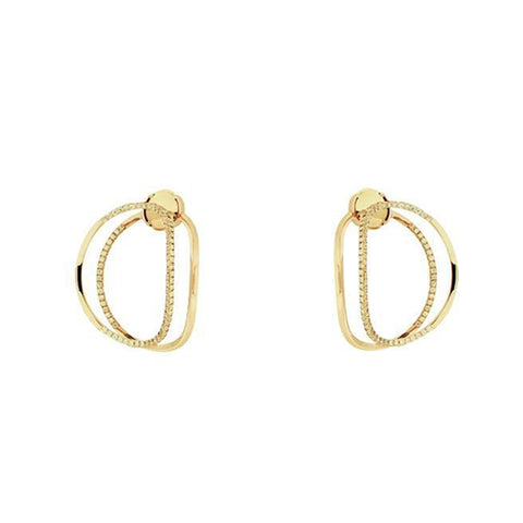 """Little Earclispe"" 18k Gold Earrings"