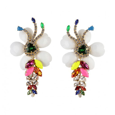 """Exotica"" Neon Earrings"