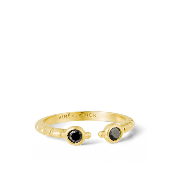 """Folles Iguazu"" 18k Yellow Gold Ring - ARCHIVES"