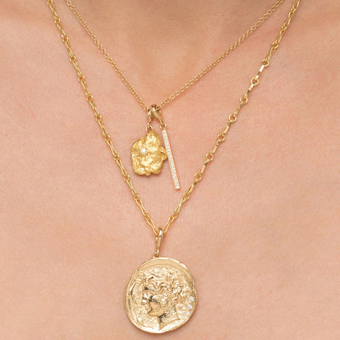 """AURUM DIAMOND NUGGET"" NECKLACE"
