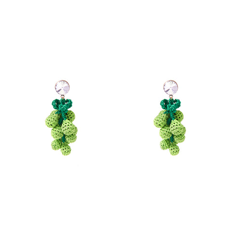 """Have a Grape Day"" Earrings"