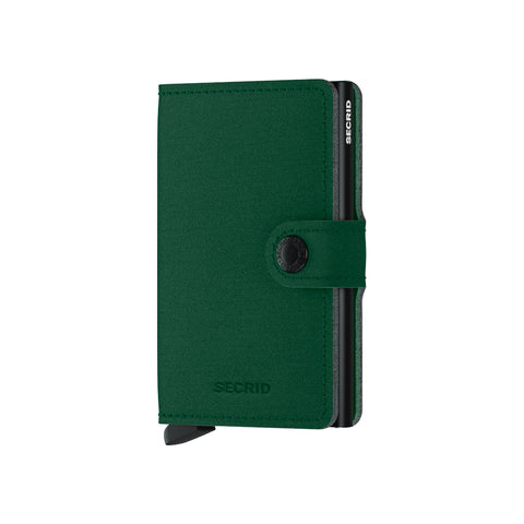 """YARD"" GREEN MINI-WALLET"