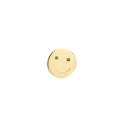 """Small Happy Face"" Stud"