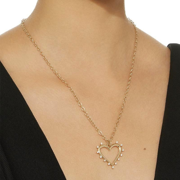 """OPEN HEART"" NECKLACE"